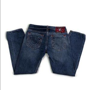 71dc33e74 True Religion. True Religion Geno Super T Distressed Jeans Sz 36.  45  0